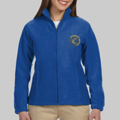 Ladies Full Zip Micro Fleece Jacket